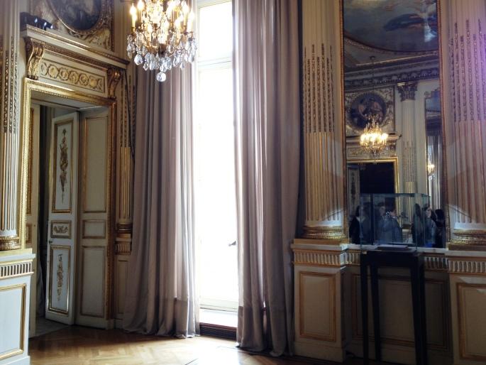 Chaumet salons place Vendôme window