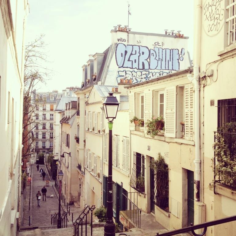 Montmartre rue André Antoine