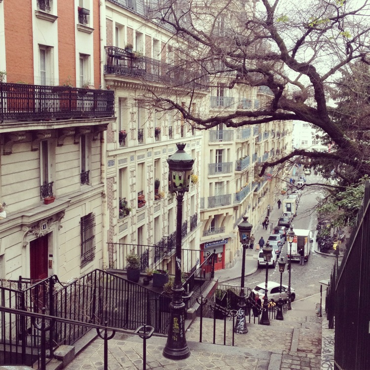 Montmartre Rue Paul Albert street