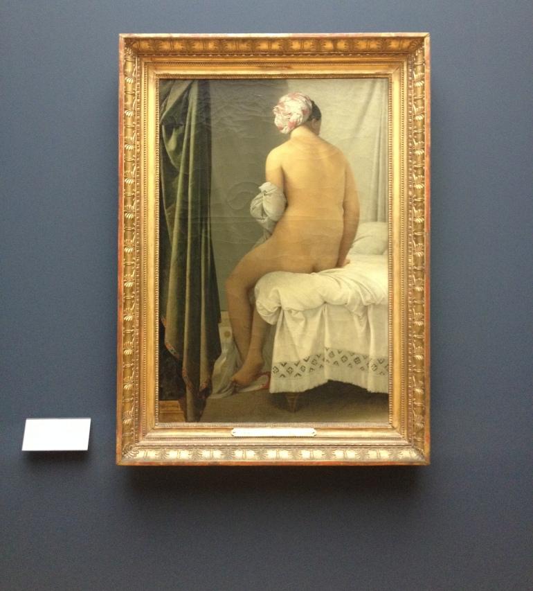 Louvre Baigneuse Valpincon Ingres