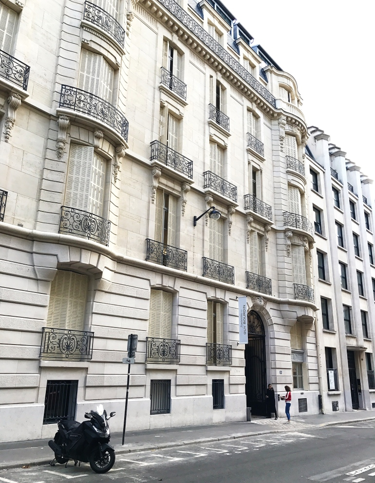 La Maison Chloé Paris rue de la Baume